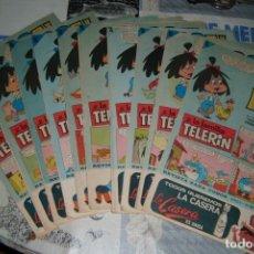 Tebeos: LOTE DE 10 TEBEOS DINDAN FAMILA TELERIN. Lote 145769802