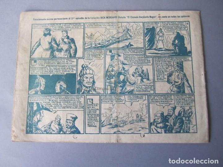 Tebeos: PIRATA NEGRO, EL (1948, BRUGUERA) 3 · 1948 · EL RAPTO DE LA CONDESITA - Foto 2 - 145895830