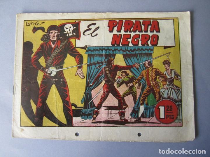 PIRATA NEGRO, EL (1948, BRUGUERA) 1 · 1948 · EL PIRATA NEGRO (Tebeos y Comics - Bruguera - Otros)