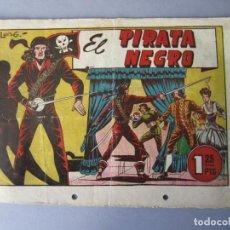 Tebeos: PIRATA NEGRO, EL (1948, BRUGUERA) 1 · 1948 · EL PIRATA NEGRO. Lote 145898298