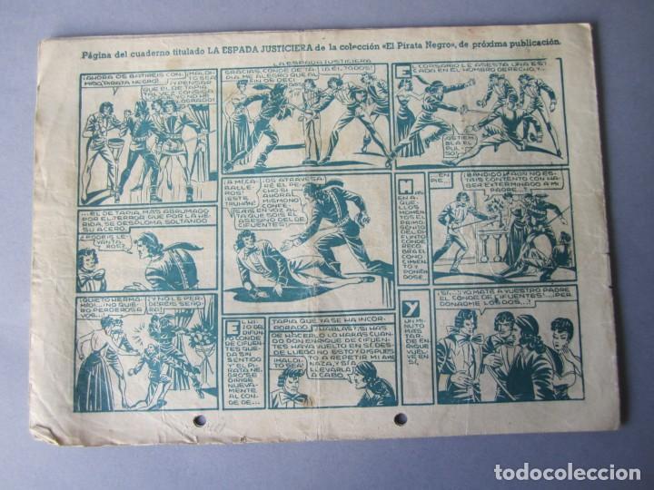 Tebeos: PIRATA NEGRO, EL (1948, BRUGUERA) 1 · 1948 · EL PIRATA NEGRO - Foto 2 - 145898298