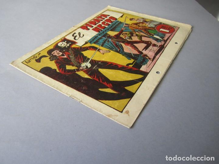 Tebeos: PIRATA NEGRO, EL (1948, BRUGUERA) 1 · 1948 · EL PIRATA NEGRO - Foto 3 - 145898298