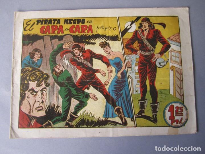 PIRATA NEGRO, EL (1948, BRUGUERA) 4 · 1948 · CARA A CARA (Tebeos y Comics - Bruguera - Otros)