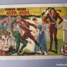 Tebeos: PIRATA NEGRO, EL (1948, BRUGUERA) 4 · 1948 · CARA A CARA. Lote 145898886