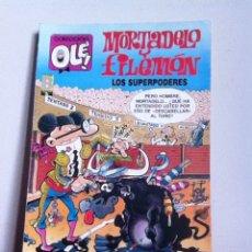 Tebeos: MORTADELO Y FILEMON 1 EDICIÓN 1989. N 345. Lote 145899341