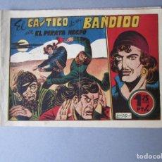 Tebeos: PIRATA NEGRO, EL (1948, BRUGUERA) 8 · 1948 · EL CASTIGO DE UN BANDIDO. Lote 145949906