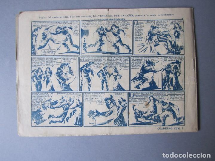 Tebeos: PIRATA NEGRO, EL (1948, BRUGUERA) 8 · 1948 · EL CASTIGO DE UN BANDIDO - Foto 2 - 145949906