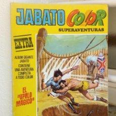 Tebeos: JABATO COLOR EXTRA *** OPALO MAGICO *** SEGUNDA ÉPOCA EDITORIAL BRUGUERA NÚMERO 35. Lote 145987110