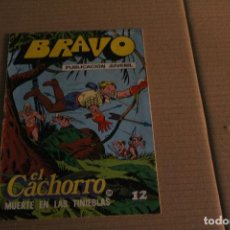 Tebeos: BRAVO Nº 55, CON EL CACHORRO Nº 28, EDITORIAL BRUGUERA. Lote 145990246