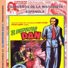 Tebeos: CUADERNOS DE LA HISTORIETA ESPAÑOLA Nº 18 INSPECTOR DAN TOMO Nº 2. Lote 150203021