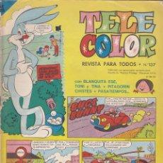 Tebeos: COMIC COLECCION TELE COLOR Nº 137. Lote 146074354