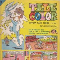 Tebeos: COMIC COLECCION TELE COLOR Nº 138. Lote 146074402