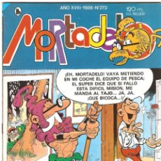 Tebeos: COMIC TEBEO MORTADELO SEMANAL DE BRUGUERA 1985, LOTE 4 NÚMEROS-267-272-273-276. Lote 146096278