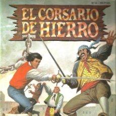 Tebeos: EL CORSARIO DE HIERRO - Nº 56 - EDICION HISTORICA & EDICIONES B . Lote 146100670