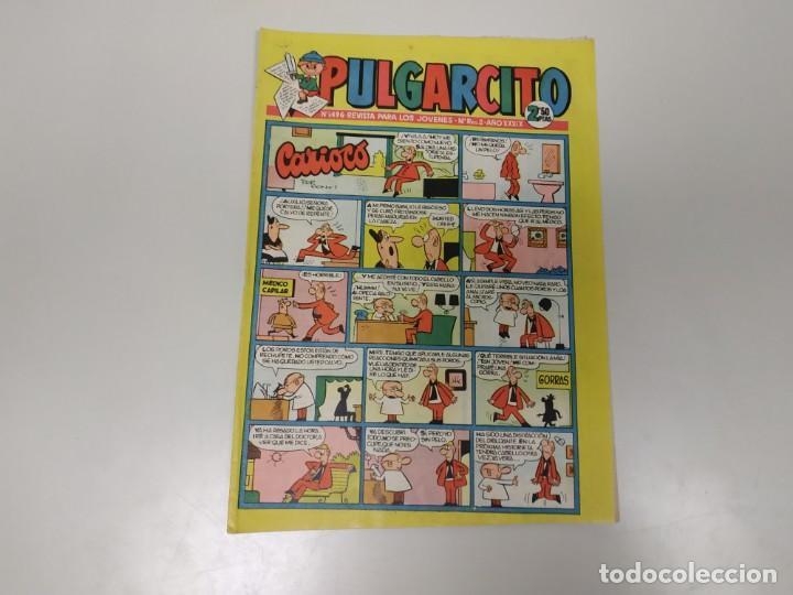 119- PULGARCITO AÑOS 50/60 Nº 1496 (Comics und Tebeos - Bruguera - Pulgarcito)