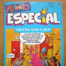 Tebeos: MORTADELO ESPECIAL Nº 203 MUCHA MAS CARA EDITORIAL BRUGUERA 1983 NUEVO. Lote 146166366