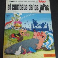 Tebeos: ASTERIX EL COMBATE DE LOS JEFES PILOTE GOSCINNY EDITORIAL BRUGUERA AÑO 1969 TAPA DURA. Lote 146245206