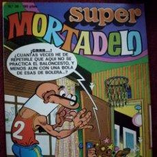 Tebeos: COMIC TEBEO SUPER MORTADELO SEMANAL DE BRUGUERA 1987 Nº 36 NUEVO. Lote 146278041