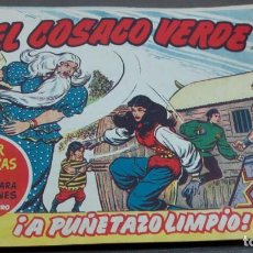 BDs: EL COSACO VERDE ¡A PUÑETAZO LIMPIO! SUPER AVENTURAS Nº 495 Nº 72 AÑO 1961 ORIGINAL. Lote 146364090