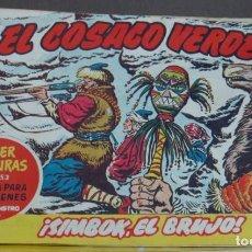 BDs: EL COSACO VERDE ¡SIMBOK, EL BRUJO! SUPER AVENTURAS Nº 453 Nº 58 AÑO 1961 ORIGINAL. Lote 146392074