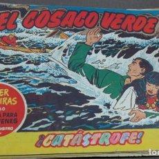 Tebeos: EL COSACO VERDE ¡CATÁSTROFE! SUPER AVENTURAS Nº 360 Nº 27 AÑO 1960 ORIGINAL. Lote 146394582