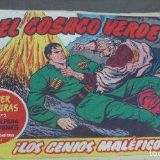 Tebeos: EL COSACO VERDE ¡LOS GENIOS MALÉFICOS! SUPER AVENTURAS Nº 372 Nº 31 AÑO 1960 ORIGINAL. Lote 146395114