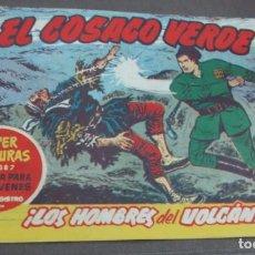 Tebeos: EL COSACO VERDE ¡LOS HOMBRES DEL VOLCÁN! SUPER AVENTURAS Nº 387 Nº 36 AÑO 1960 ORIGINAL. Lote 146395822