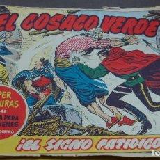 Tebeos: EL COSACO VERDE ¡EL SIGNO FATÍDICO! SUPER AVENTURAS Nº 648 Nº 123 AÑO 1962 ORIGINAL. Lote 146396258