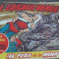 Tebeos: EL COSACO VERDE ¡EL POZO DE LA MUERTE! SUPER AVENTURAS Nº 618 Nº 113 AÑO 1962 ORIGINAL. Lote 146396366