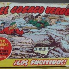 Tebeos: EL COSACO VERDE ¡LOS FUGITIVOS! SUPER AVENTURAS Nº 630 Nº 117 AÑO 1962 ORIGINAL. Lote 146396818