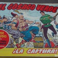 Tebeos: EL COSACO VERDE ¡LA CAPTURA! SUPER AVENTURAS Nº 636 Nº 119 AÑO 1962 ORIGINAL. Lote 146397030