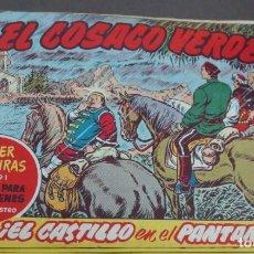 Tebeos: EL COSACO VERDE ¡EL CASTILLO EN EL PANTANO! SUPER AVENTURAS Nº 591 Nº 104 AÑO 1961 ORIGINAL. Lote 146397754