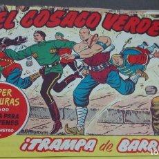 Tebeos: EL COSACO VERDE ¡LUCHA EN LO ALTO! SUPER AVENTURAS Nº 597 Nº 106 AÑO 1962 ORIGINAL. Lote 146398050