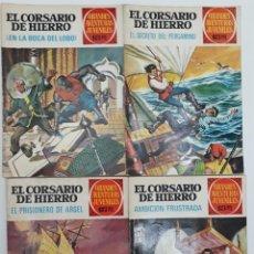 Tebeos: EL CORSARIO DE HIERRO, BRUGUERA (PRIMERA EDICIÓN AÑOS 70) 4 EJEMPLARES VER RELACIÓN Y FOTOS. Lote 146500670
