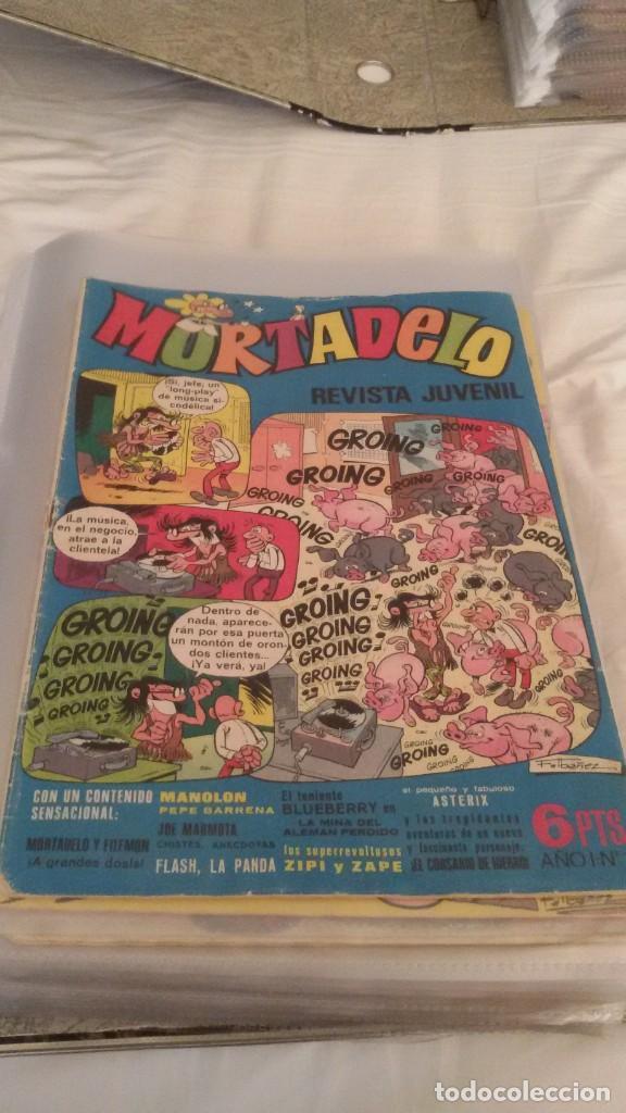 Tebeos: 106 COMICS REVISTA JUVENIL MORTADELO. REGALO: COMICS SIN CUBIERTA Y CUBIERTAS SIN CONTENID - Foto 3 - 146516210