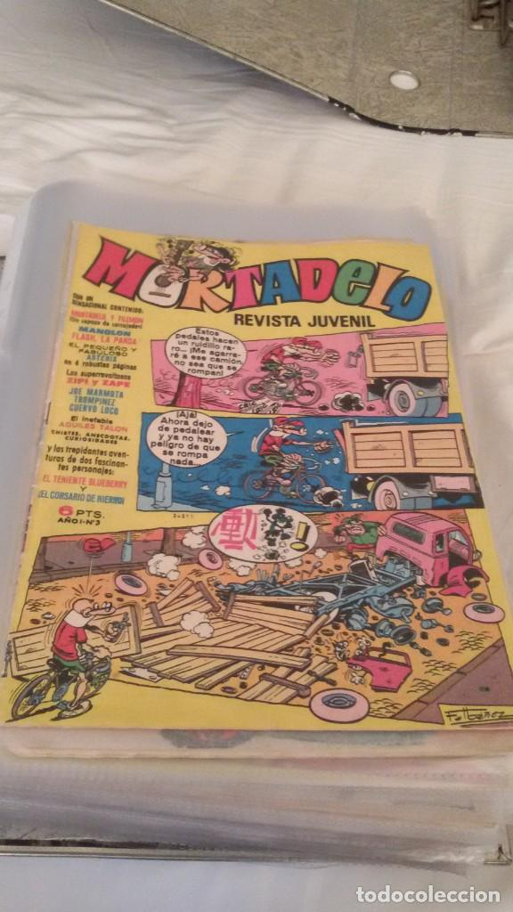 Tebeos: 106 COMICS REVISTA JUVENIL MORTADELO. REGALO: COMICS SIN CUBIERTA Y CUBIERTAS SIN CONTENID - Foto 4 - 146516210