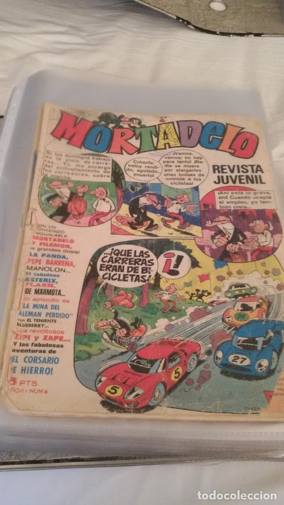 Tebeos: 106 COMICS REVISTA JUVENIL MORTADELO. REGALO: COMICS SIN CUBIERTA Y CUBIERTAS SIN CONTENID - Foto 5 - 146516210