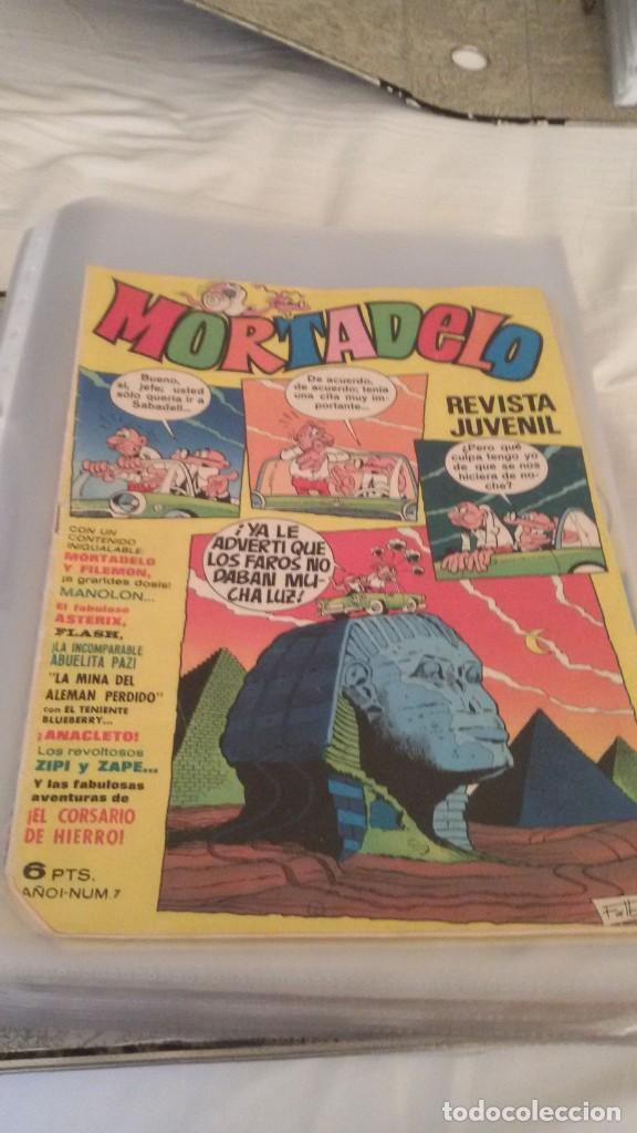Tebeos: 106 COMICS REVISTA JUVENIL MORTADELO. REGALO: COMICS SIN CUBIERTA Y CUBIERTAS SIN CONTENID - Foto 6 - 146516210