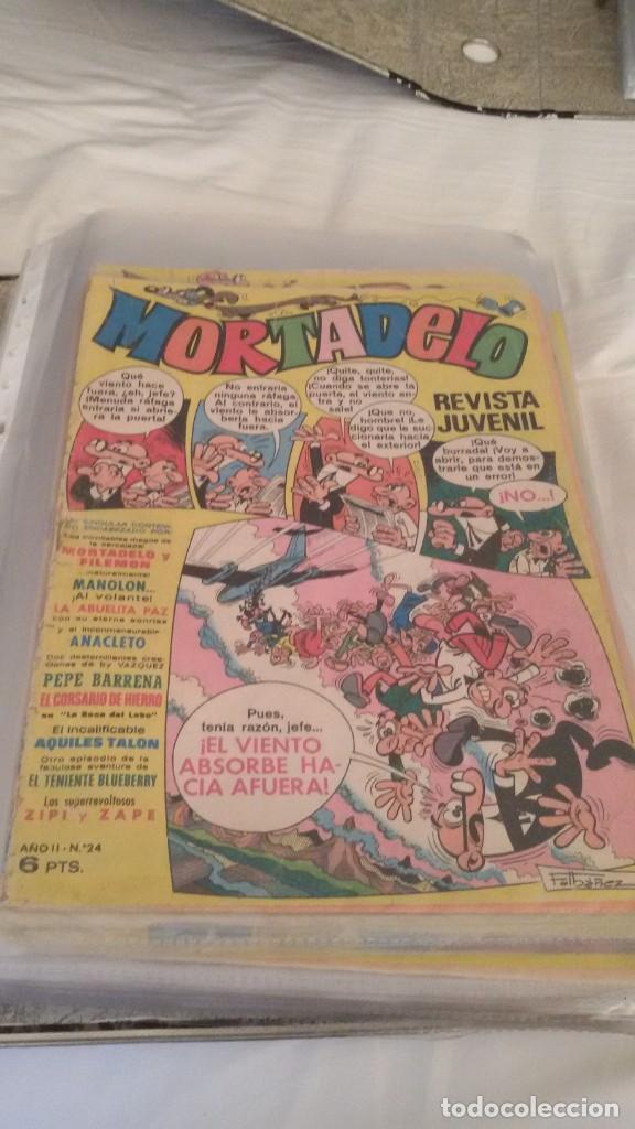 Tebeos: 106 COMICS REVISTA JUVENIL MORTADELO. REGALO: COMICS SIN CUBIERTA Y CUBIERTAS SIN CONTENID - Foto 7 - 146516210