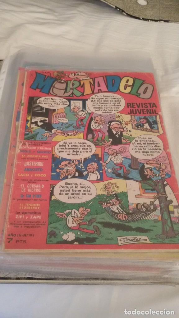 Tebeos: 106 COMICS REVISTA JUVENIL MORTADELO. REGALO: COMICS SIN CUBIERTA Y CUBIERTAS SIN CONTENID - Foto 8 - 146516210