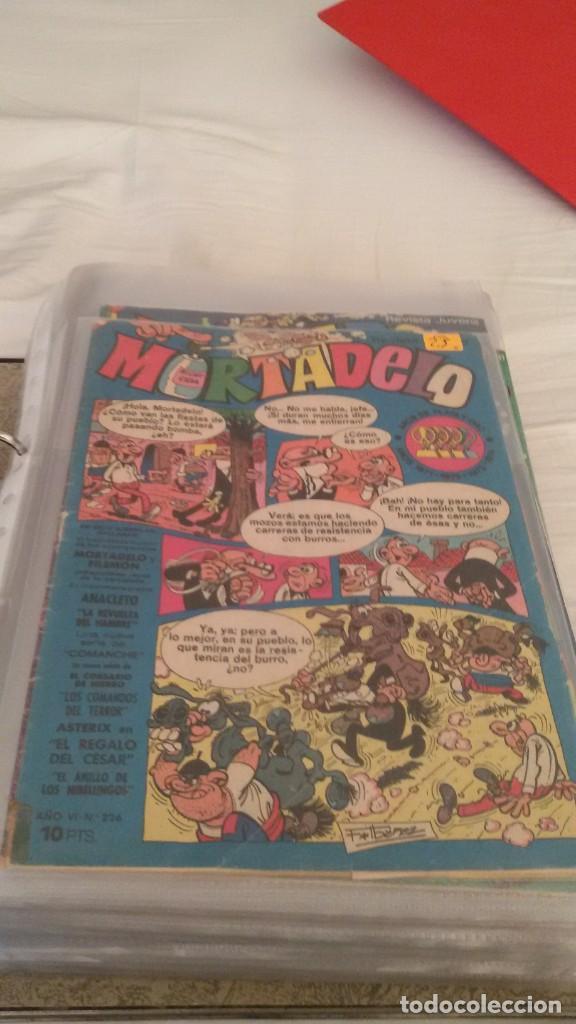 Tebeos: 106 COMICS REVISTA JUVENIL MORTADELO. REGALO: COMICS SIN CUBIERTA Y CUBIERTAS SIN CONTENID - Foto 10 - 146516210