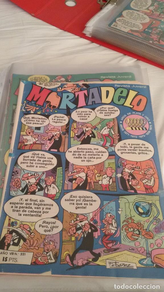 Tebeos: 106 COMICS REVISTA JUVENIL MORTADELO. REGALO: COMICS SIN CUBIERTA Y CUBIERTAS SIN CONTENID - Foto 12 - 146516210