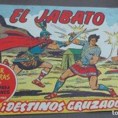 Tebeos: EL JABATO ¡DESTINOS CRUZADOS! SUPER AVENTURAS Nº 290 Nº 86 BRUGUERA 1960 ORIGINAL. Lote 146538590