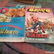 Tebeos: BRAVO Nº 9 EL CACHORRO Nº5 - FIN DE LA PARTIDA - BRUGUERA 1976. Lote 146542082