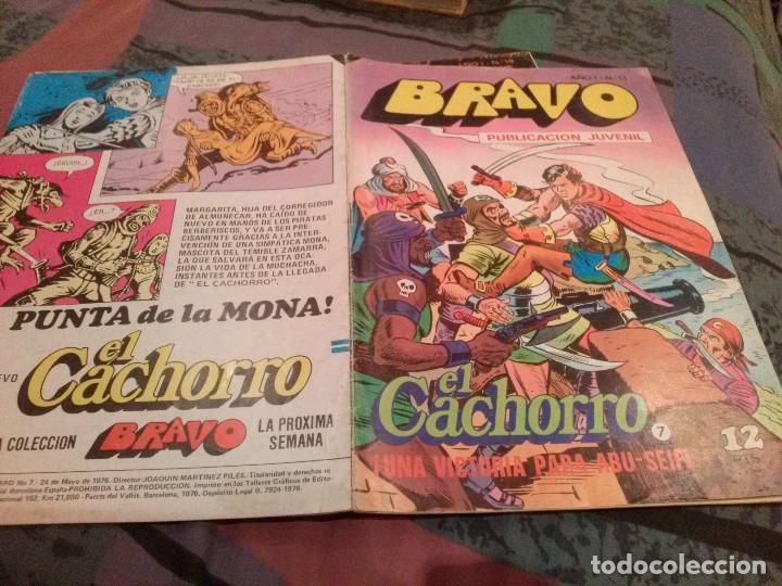 BRAVO Nº 13 EL CACHORRO Nº 7 UNA VICTORIA PARA ABU-SEIF - BRUGUERA 1976 (Tebeos y Comics - Bruguera - Bravo)