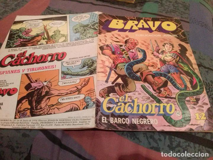 BRAVO Nº 19 -EL CACHORRO- Nº 10 -1976-EL BARCO NEGRERO - BRUGUERA 1976 (Tebeos y Comics - Bruguera - Bravo)