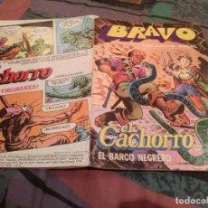 Tebeos: BRAVO Nº 19 -EL CACHORRO- Nº 10 -1976-EL BARCO NEGRERO - BRUGUERA 1976. Lote 146542898