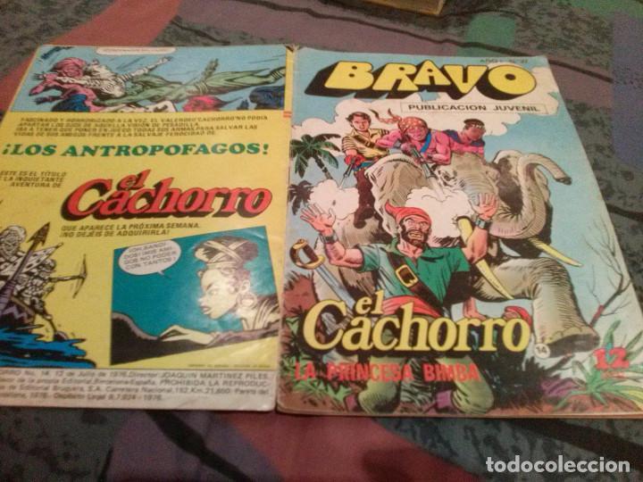 BRAVO- Nº 27 -EL CACHORRO- Nº 14-LA PRINCESA BIMBA- BRUGUERA 1976 (Tebeos y Comics - Bruguera - Bravo)