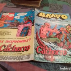 Tebeos: BRAVO-Nº 43 -EL CACHORRO-Nº 22 - EL RAPTO DE BIMBA - BRUGUERA 1976. Lote 146544910