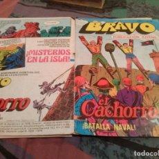 Tebeos: BRAVO. Nº 47. EL CACHORRO. Nº 24. -BATALLA NAVAL- BRUGUERA 1976. Lote 146545626